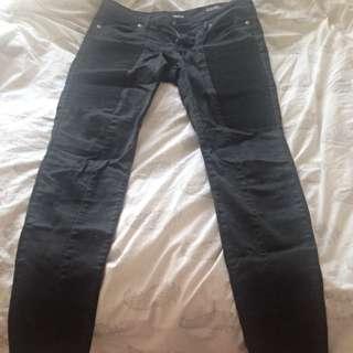 Black Motorcycle Pants - size 28