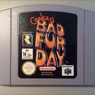 Conkers Bad Furday For Nintendo 64
