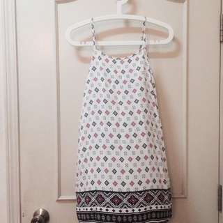 Cotton On Patterned Dress Or Singlet