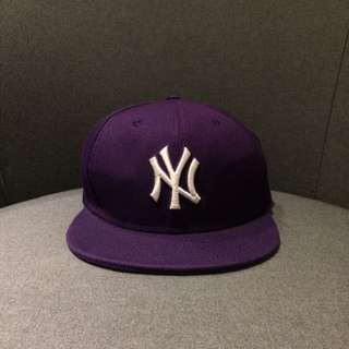 New York Yankees Cap Purple
