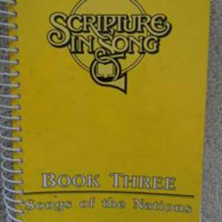Wanted: Scripture In Song Series Of Songbooks.