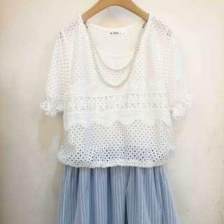 正韓紗網小洋裝