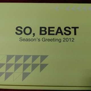 Beast 2012season年曆 官方