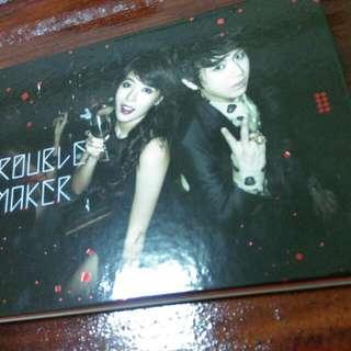 Beast 4minute 張賢勝 金泫雅js Hyuna Trouble maker首張同名專輯