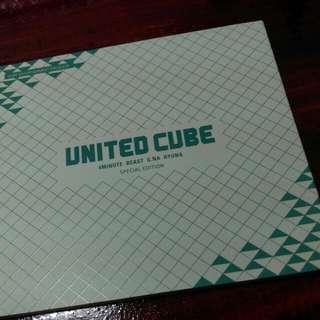 Beast 4minute Gna Cube家族特別專輯