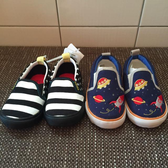 學步鞋2雙賣