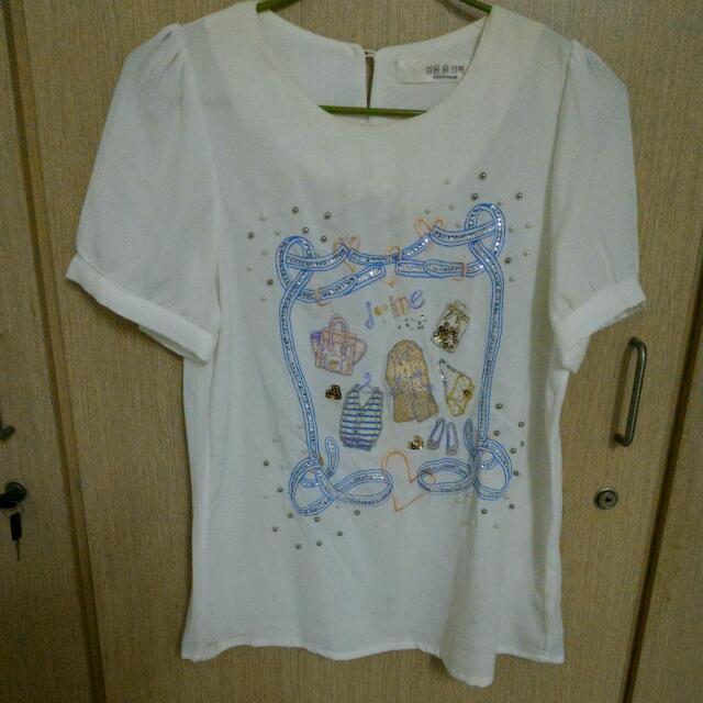 韓版雪紡衫