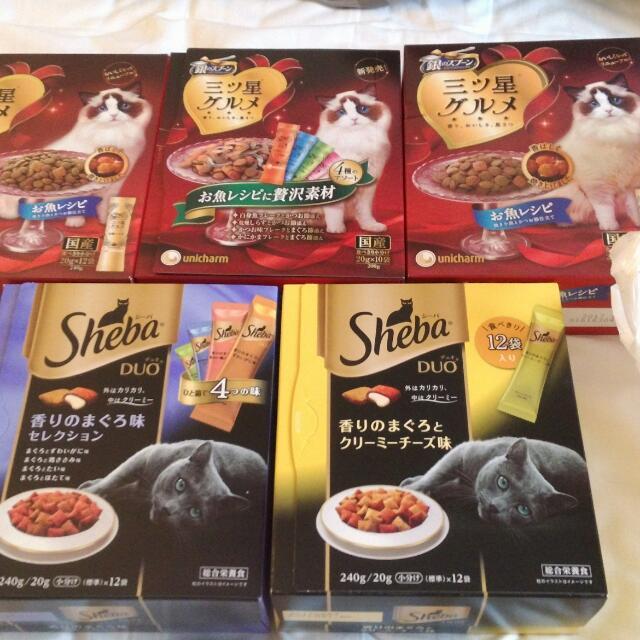 [日本帶回] 貓零食 Sheba 貓餡餅 銀湯匙