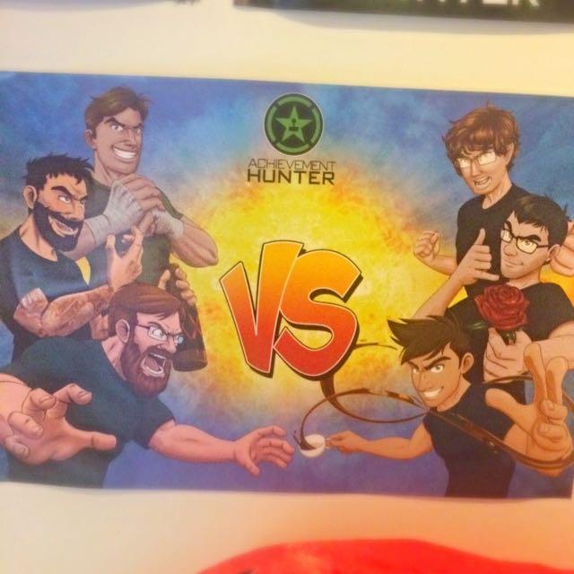 Achievement Hunter VS Poster