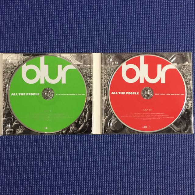 All the People: Blur Live at Hyde Park CD