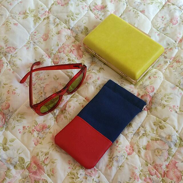 Authentic Le Specs Red Sunnies