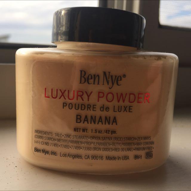 BEN NYE BANANA LUXURY POWDER 1.5oz Dome Jar