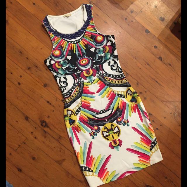 Blockout Dress Sz 8
