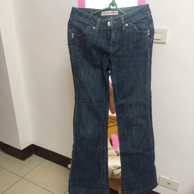 《二手》BOBSON SUNSISTER 直筒牛仔褲