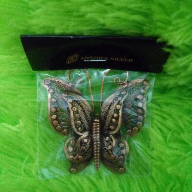 Butterfly - Silver Brooch