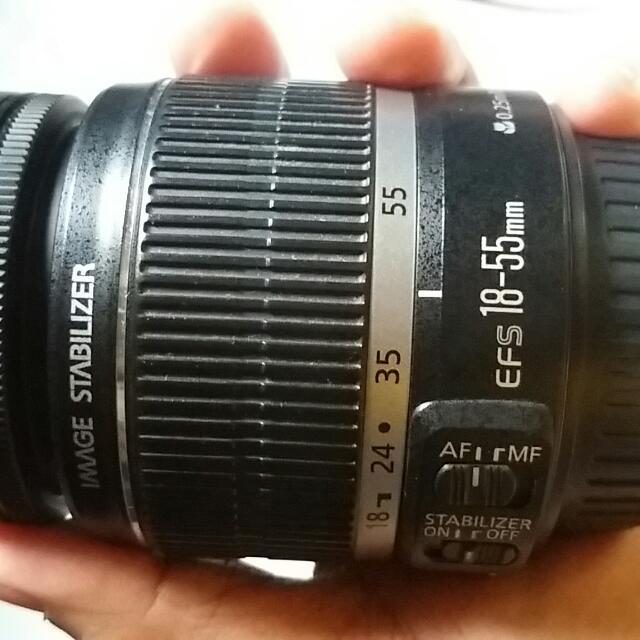 Canon Lens 18-55 mm