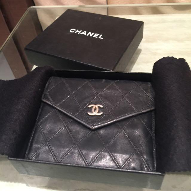 正品Chanel短夾