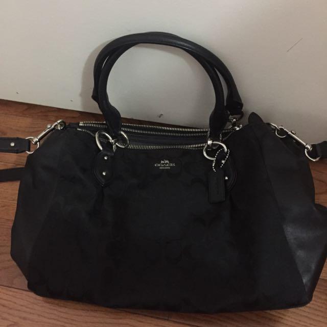 Coach Handbag W/ Sling