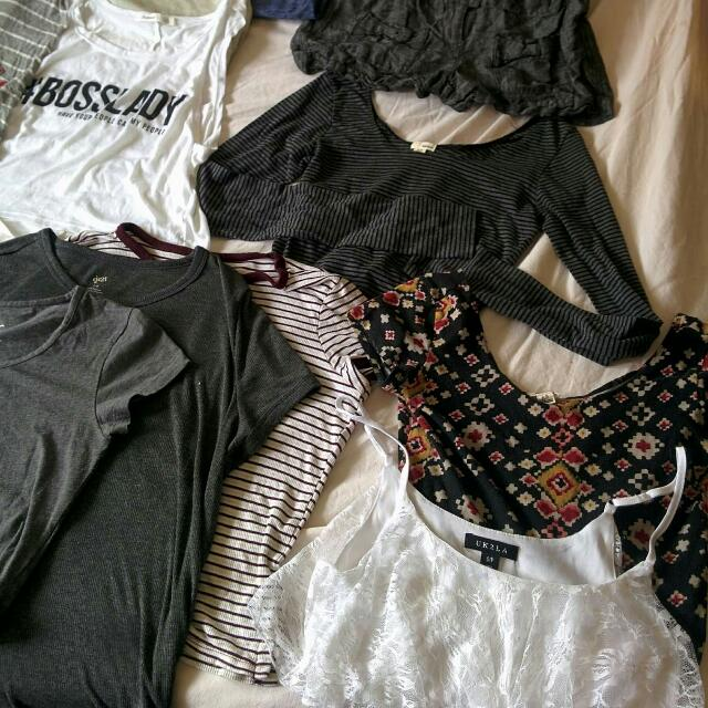 Crops, Tanks And Tops