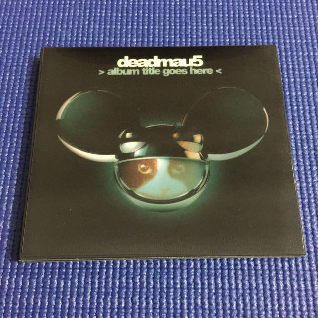 Deadmau5 CD