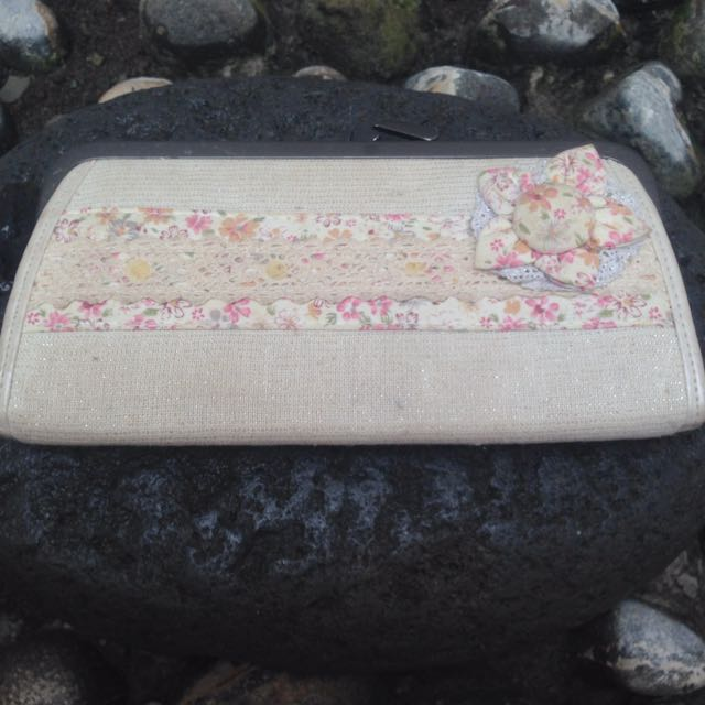 Dompet Pink Simple