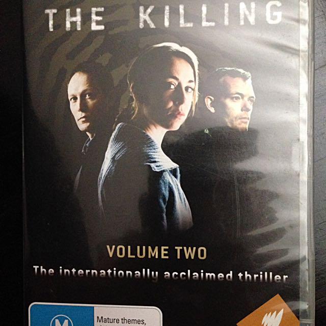 DVD: The Killing (Season 1, Volume 2)