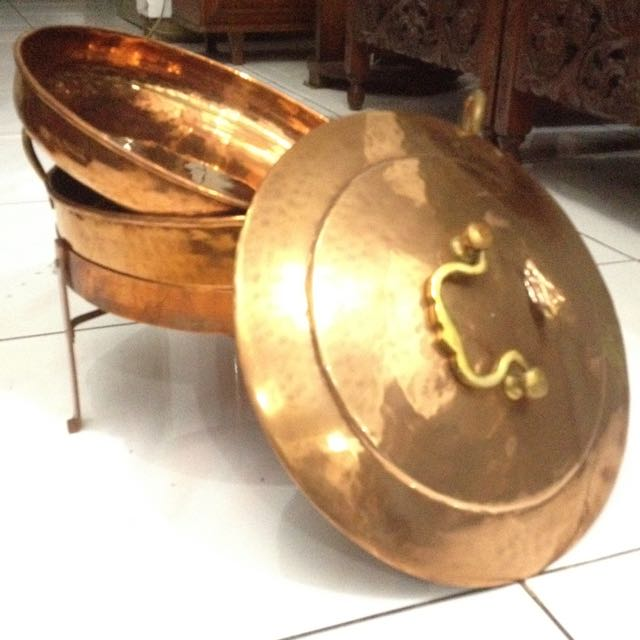 Copper Food Warmer