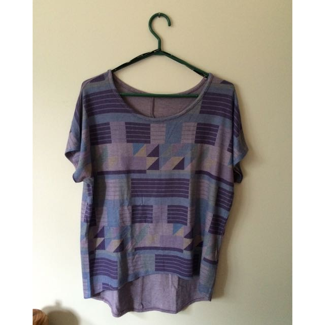 Forever 21 Soft Pattern Tee