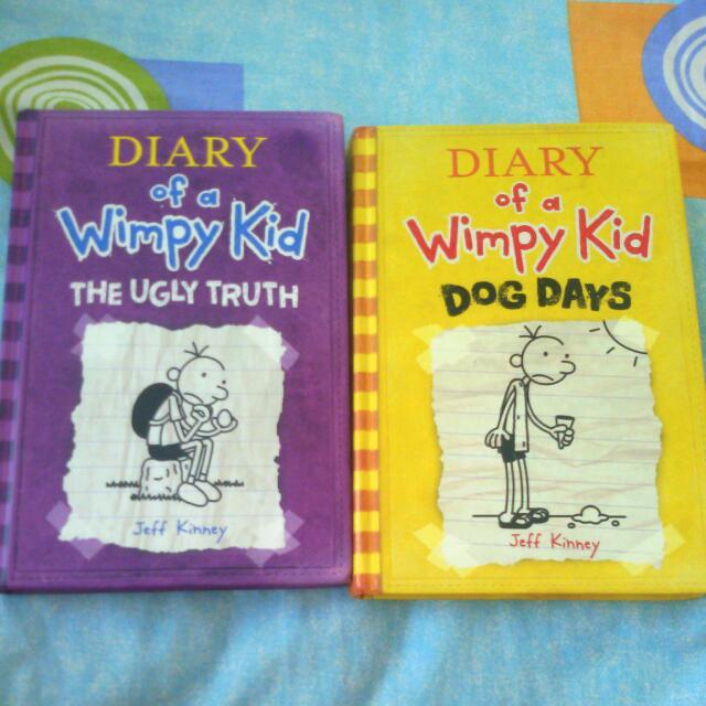 HARDBOUND Diary Of A Wimpy Kid