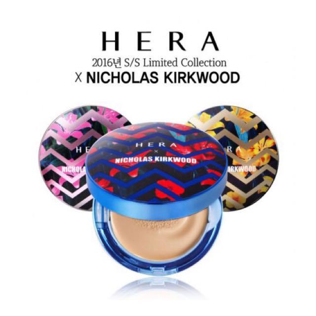 HERA赫拉2016限定聯名款氣墊分餅 全新補充包 3色