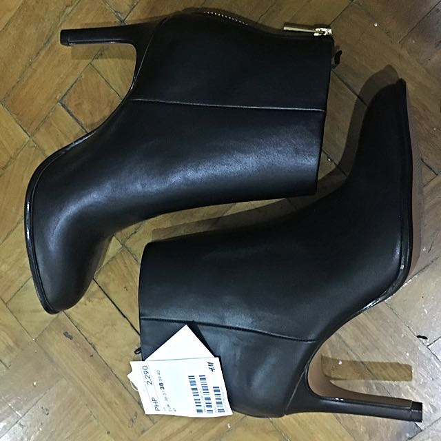 H&M Ankle Boots (Black)