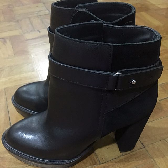 H&M Ankle Boots (Genuine Leather)