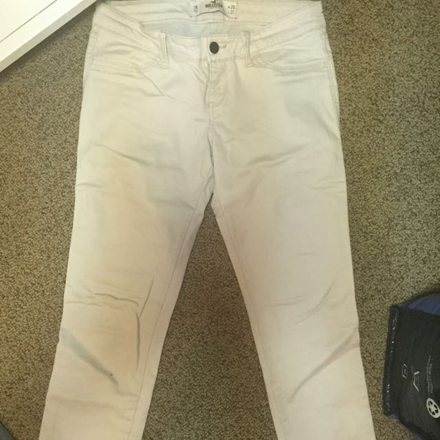 Holister Beige Pants