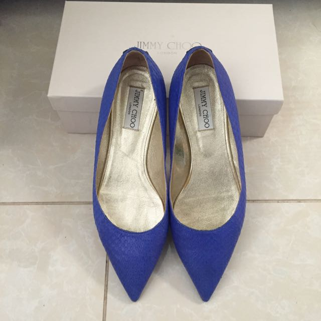 Jimmy Choo Leather Flat