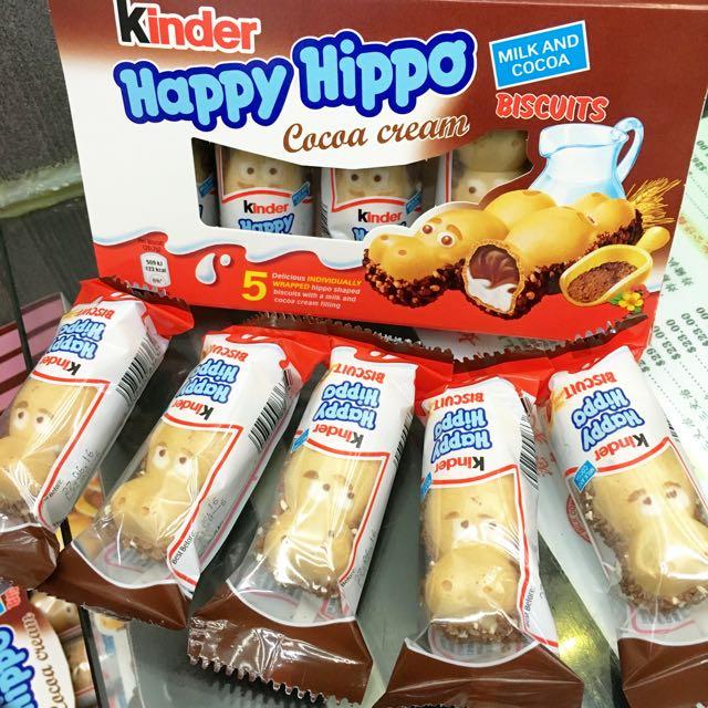 即期品降價出清❤️健達河馬繽紛樂❤️Kinder Happy Hippo