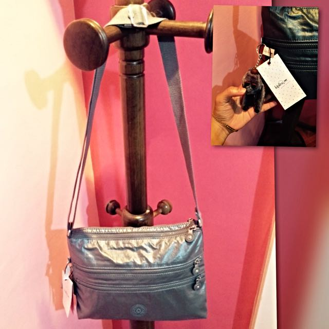 Kipling Sling Bag 2 - Silver