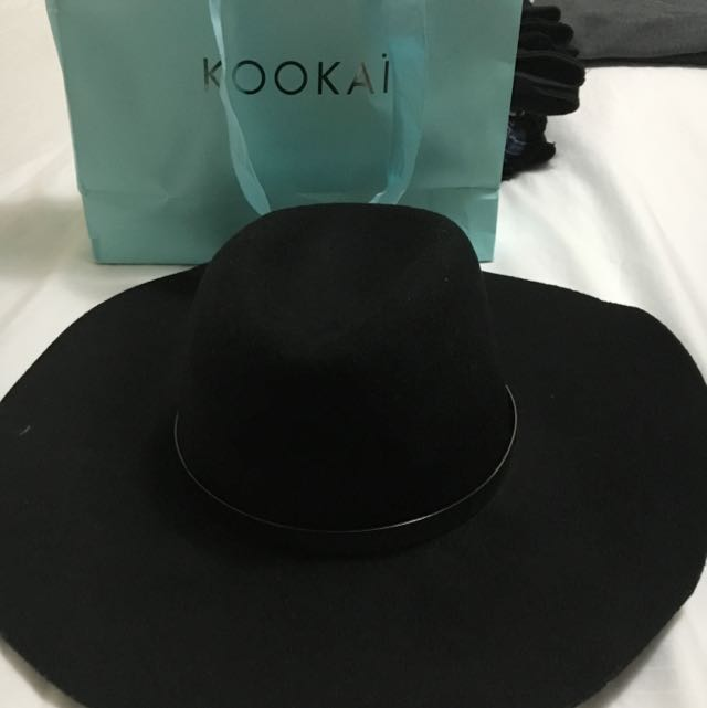Kookai 100% Wool Hat