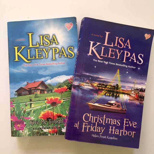 Christmas Eve At Friday Harbor.Lisa Kleypas Books Stationery On Carousell