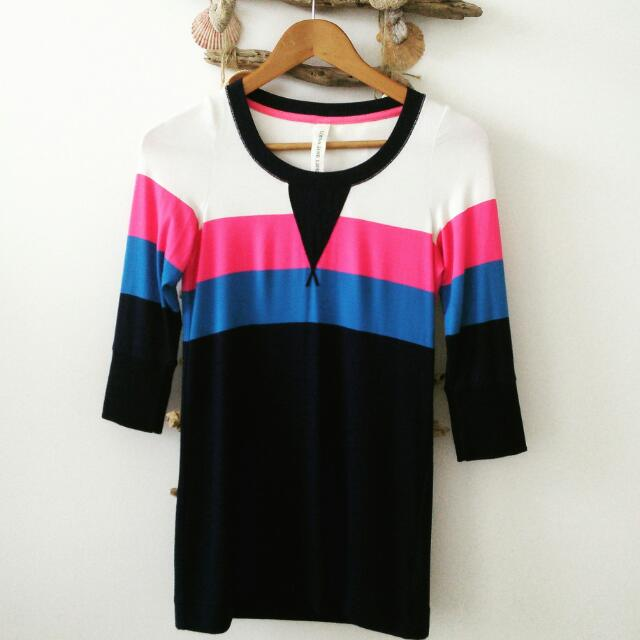 Lorna Jane Life Ladies Active Shirt Size XS (8-10)