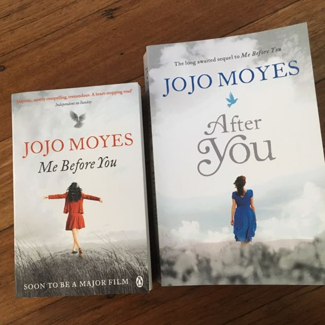 Me Before You & After You books by Jojo Moyes