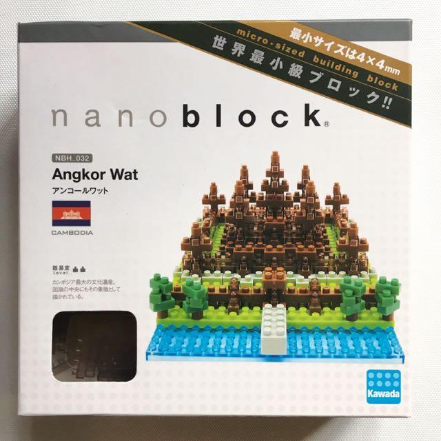 nanoblock - Angkor Wat