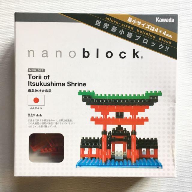 nanoblock - Tori of Itsukushima Shrine