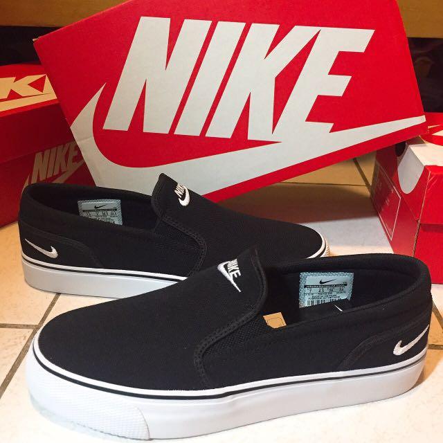 Nike 懶人鞋 黑 日本帶回