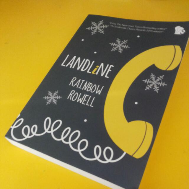 Novel Landline by Rainbow Rowell