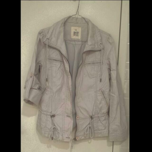 Pale Blue-grey Jacket