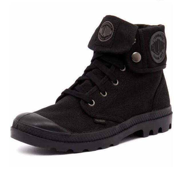 Palladium Baggy Black Shoes - Women