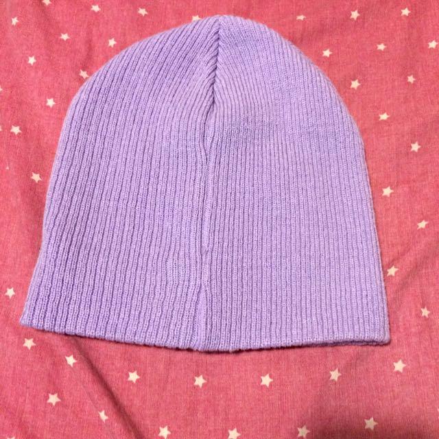 Pastel Lavender Winter Hat