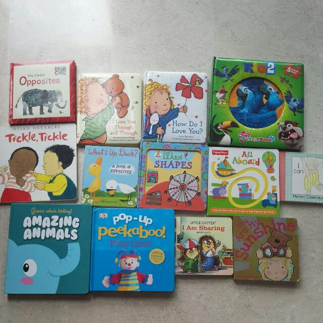 Popular Baby And Toddler Books Babies Kids On Carousell