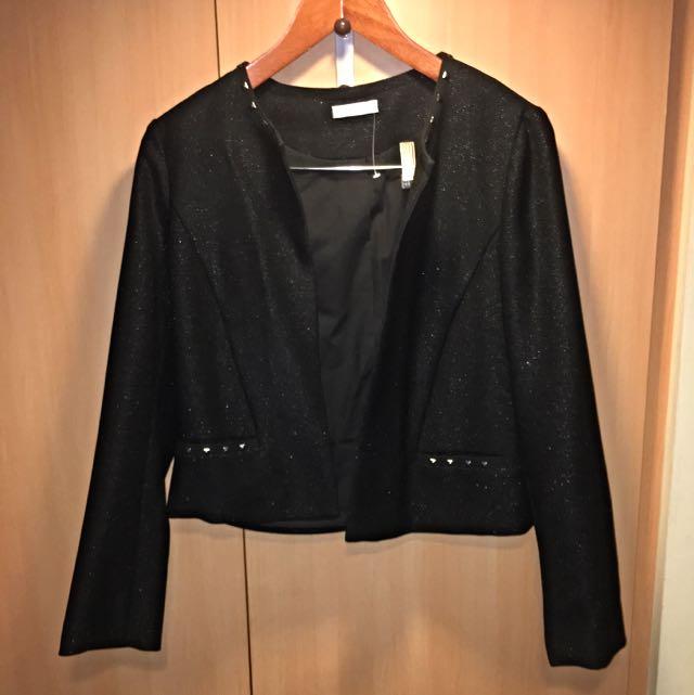 Promod - Black Studded Blazer