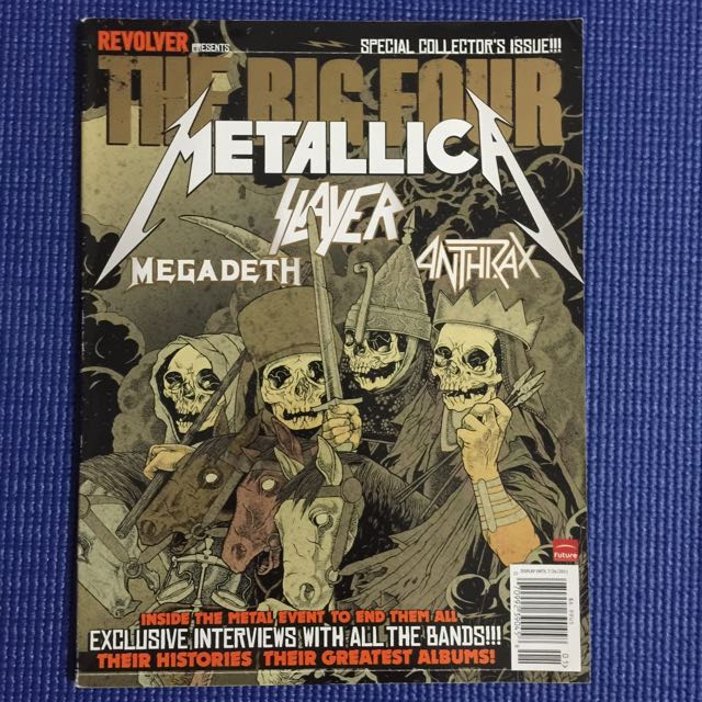 Revolver Magazine Presents The Big Four